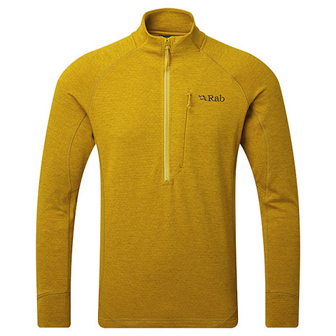 Rab FLEECE Top Men's Nexus Pull-On Dark Sulphur