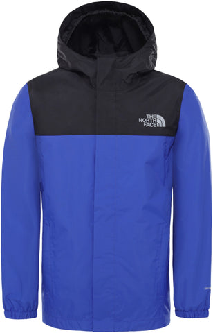 Kids' The North Face Resolve Reflective Waterproof Jacket - Blue