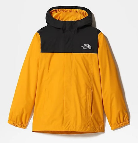Kids' North Face  Resolve Reflective Waterproof Jacket - Yellow
