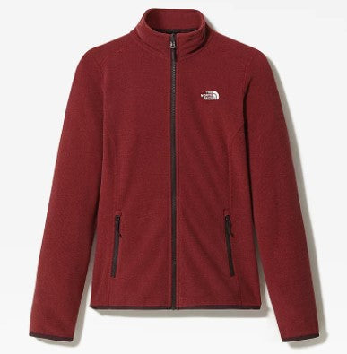 Women's The North Face 100 Glacier FZ Fleece - Purple