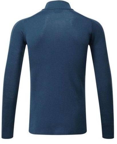 Men's North Ridge Convect 200 Merino LS Zip - Blue