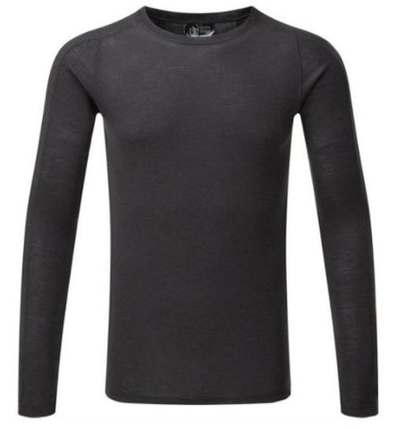 Men's North Ridge Convect 200 Merino LS - Black