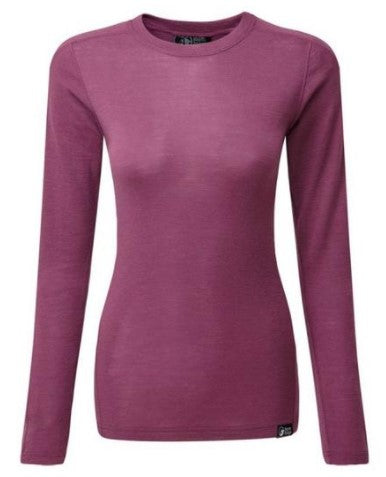 Women's North Ridge Convect 200 Merino LS - Purple