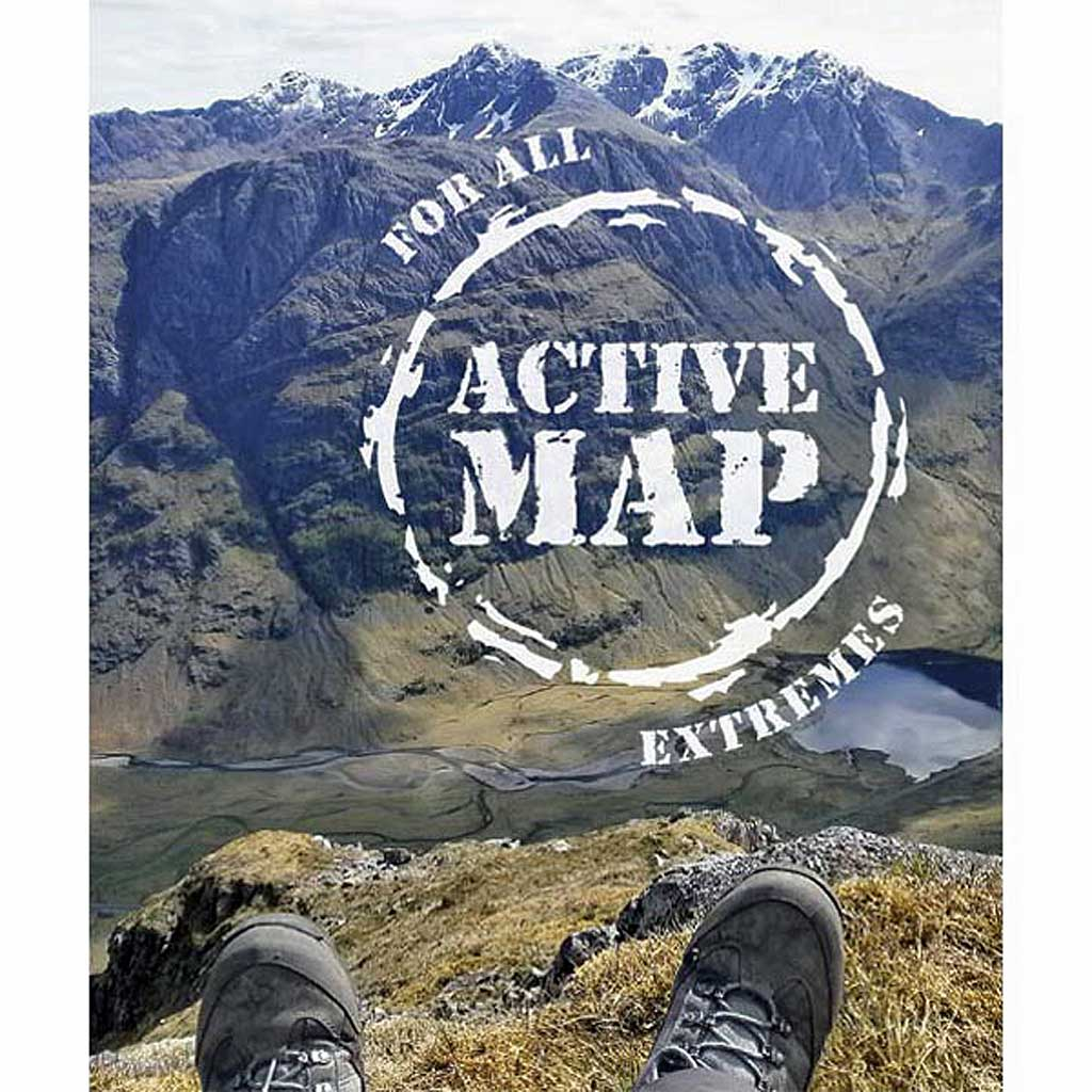 OS Explorer ACTIVE Map 375 Isle of Mull East
