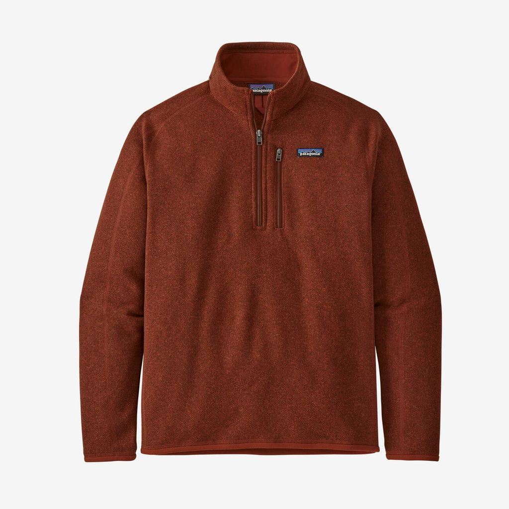 Patagonia Men's Better Sweater Quarter Zip - Red