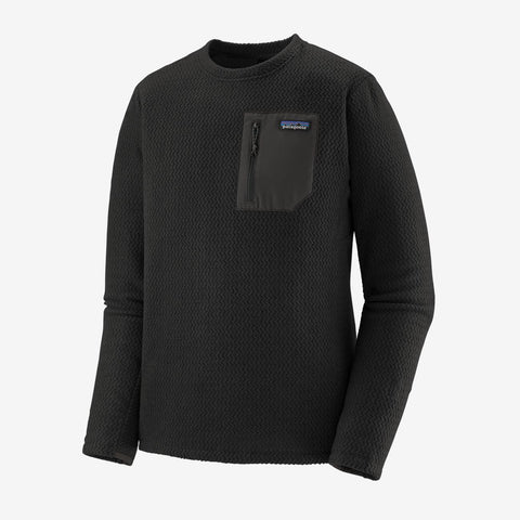 Men's Patagonia R1 Air Crew - Black