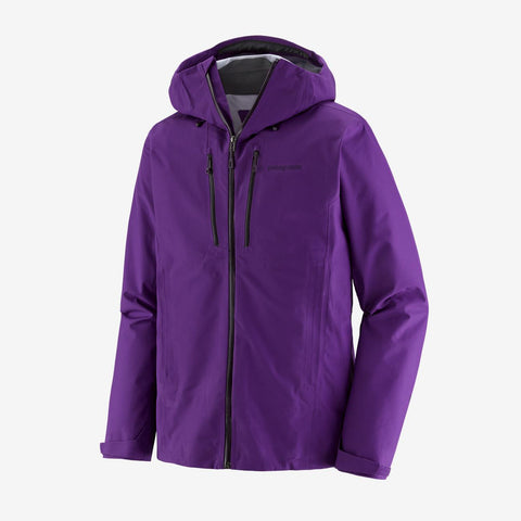 Men's Patagonia Triolet Waterproof Jacket - Purple