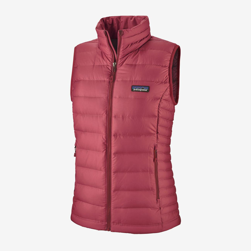 Women's Patagonia Down Sweater Vest - Red