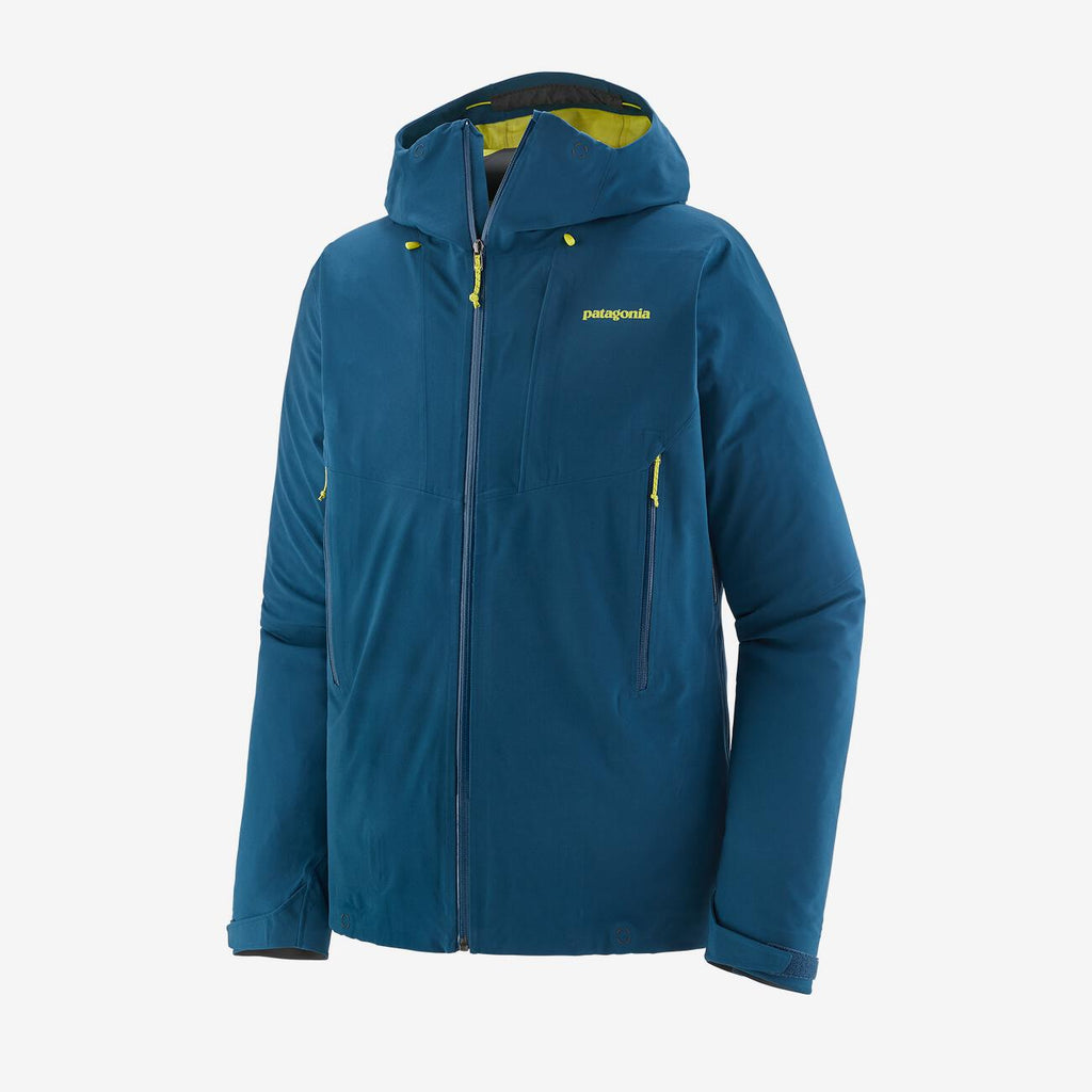 Men's Patagonia Galvanized Waterproof Jacket - Blue