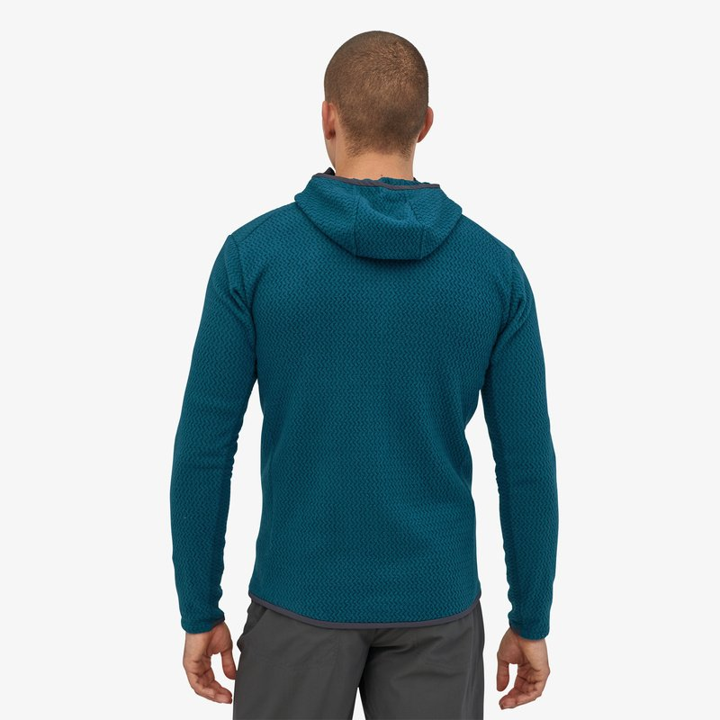 Men's Patagonia R1 Air FZ Hoody - Blue