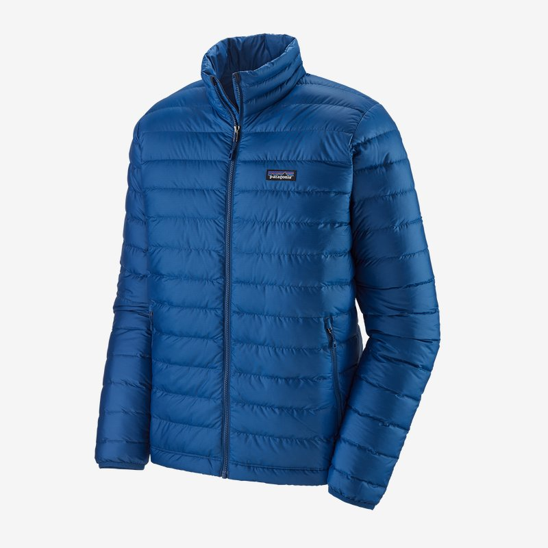 Men's Patagonia Down Sweater - Blue