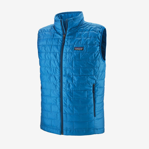 Men's Patagonia Nano Puff Vest - Blue