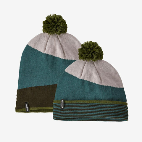 U Patagonia Lightweight Powder Town Beanie - Green