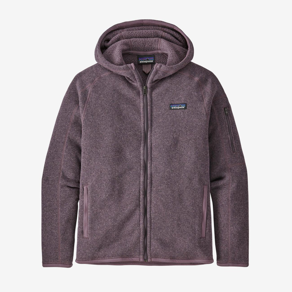 Women's Patagonia Better Sweater Hoody - Purple