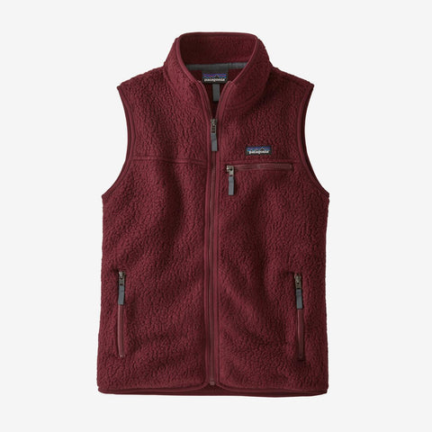 Women's Patagonia Retro Pile Vest - Red