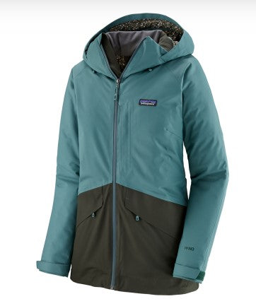 Women's Patagonia Insulated Snowbelle Jacket - Green