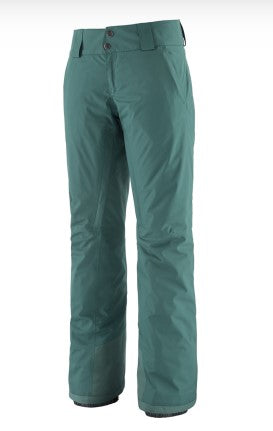 Women's Patagonia Insulated Snowbelle Pant - Green