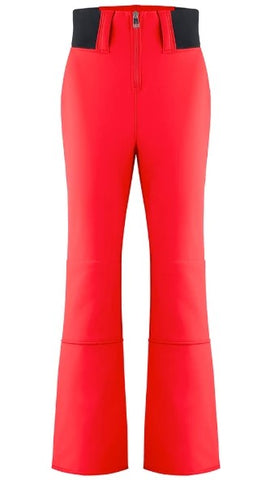Women's Poivre Blanc Softshell Zip Pant - Red