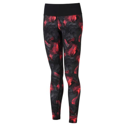 Ronhill Pants Women's Momentum Tights Hot Pink Wave