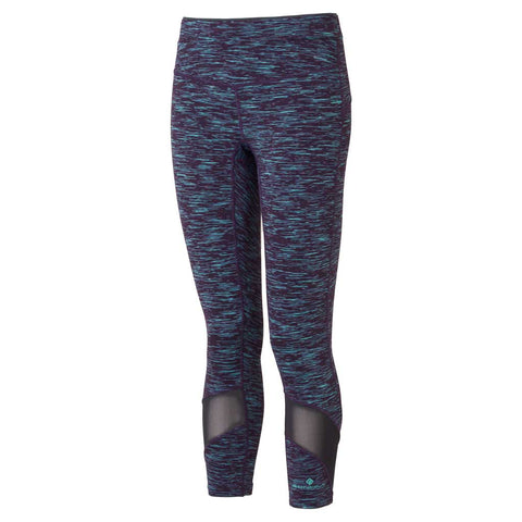 Ronhill Pants Women's Infinity Crop Tights Blackberry/Aquamint