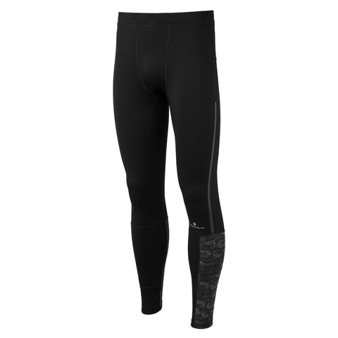 Ronhill Pants Men's Momentum Afterlight Tights Black/Reflective