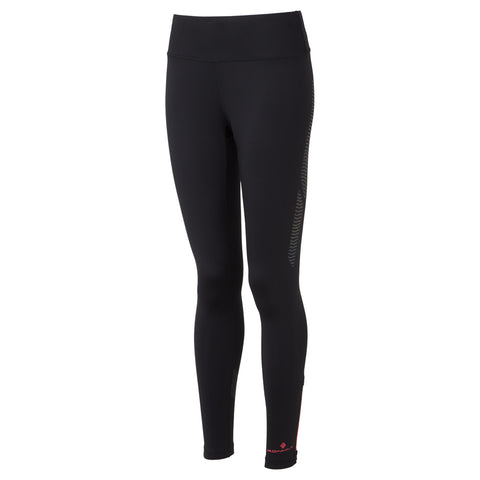 Ronhill Pants Women's Infinity Nightfall Tights Black/Reflective