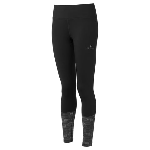 Ronhill Pants Women's Momentum Afterlight Tights Black/Reflective