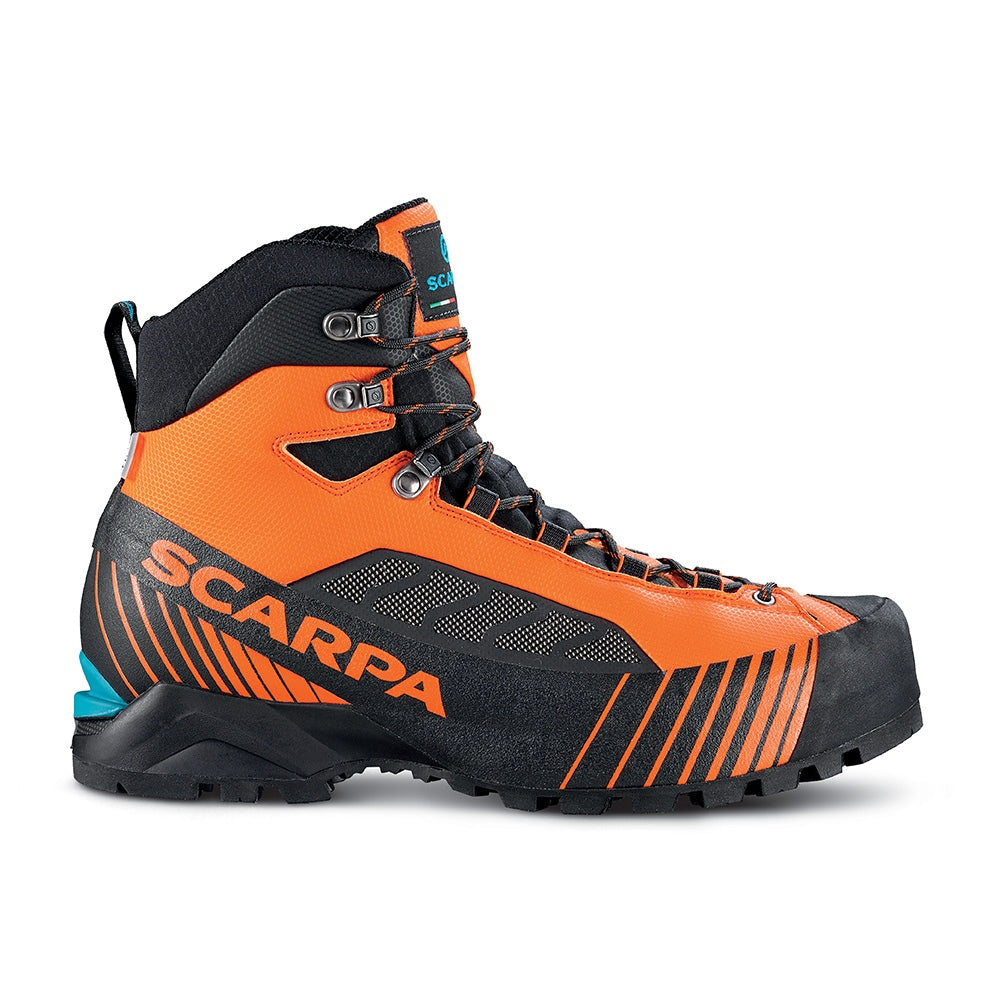 Scarpa Men's Ribelle Lite HD Mountaineering Boot - Black/Orange
