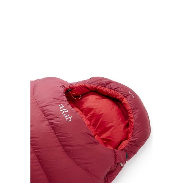 Rab Ascent 900 L Zip Sleeping Bag - Red