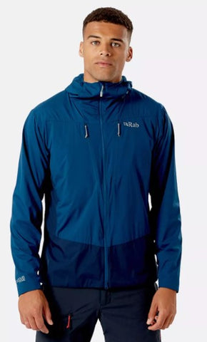 Men's Rab VR Alpine Light Jacket - Navy