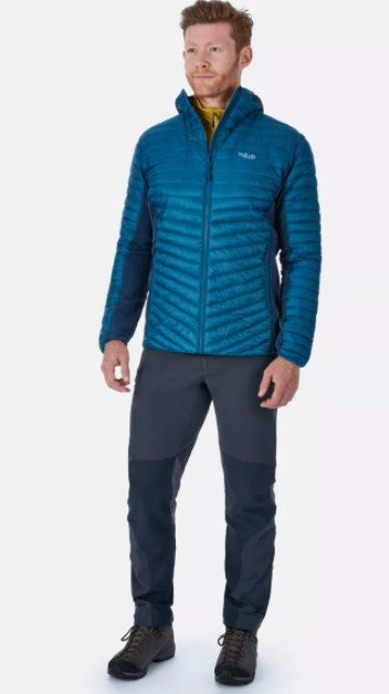 Men's Rab Cirrus Flex Hoody - Blue