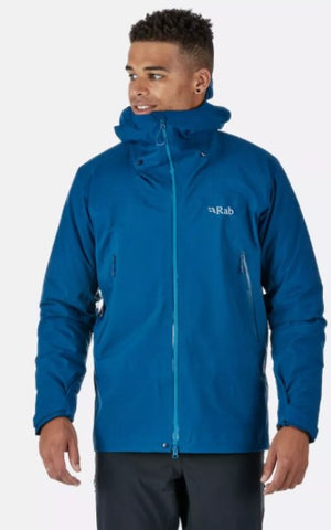 Men's Rab Kangri GTX Waterproof Jacket - Navy