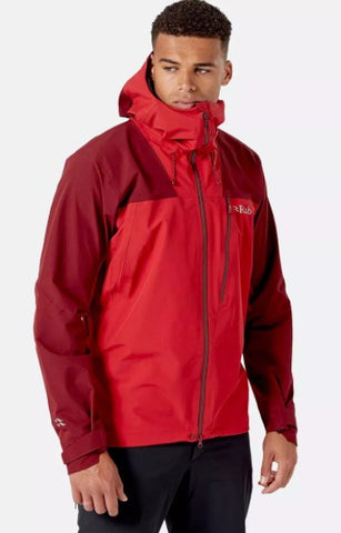 Men's Rab Ladakh GTX Waterproof Jacket - Red