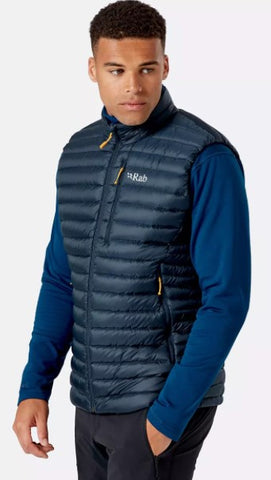 Men's Rab Microlight Vest - Grey