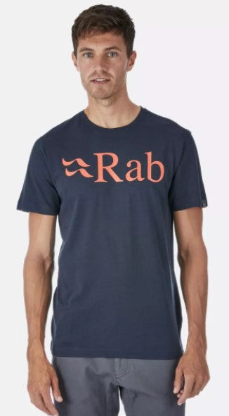 Men's Rab Stance Logo SS Tee - Grey