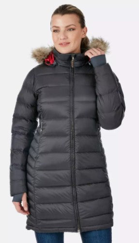 Women's Rab Deep Cover Parka - Grey