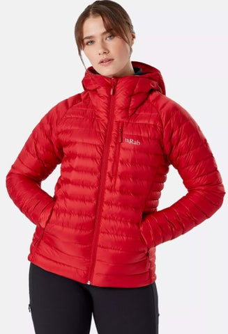 Women's Rab Microlight Alpine Jacket - Red