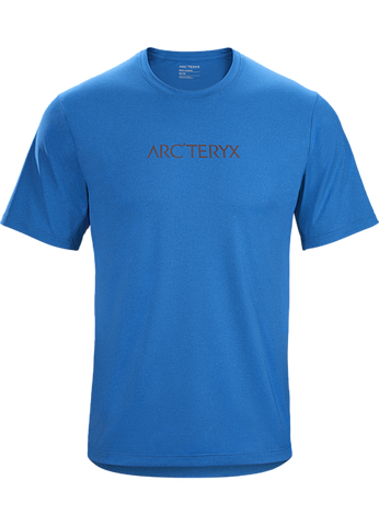 Arc'teryx Men's Remige Word T-Shirt SS - Blue