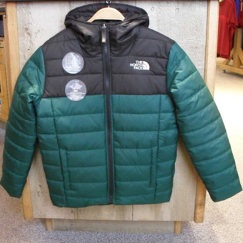 North Face INSULATED Jacket Boy's Reversible Perrito Night Green