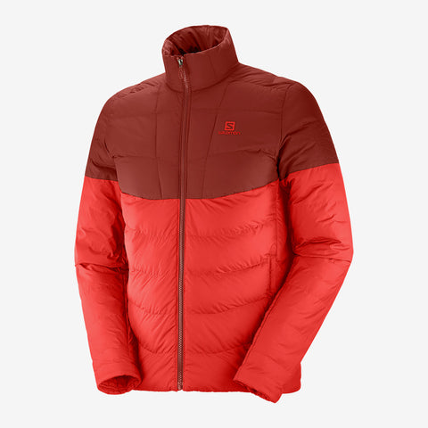 Men's Salomon Sight Storm Jacket - Red