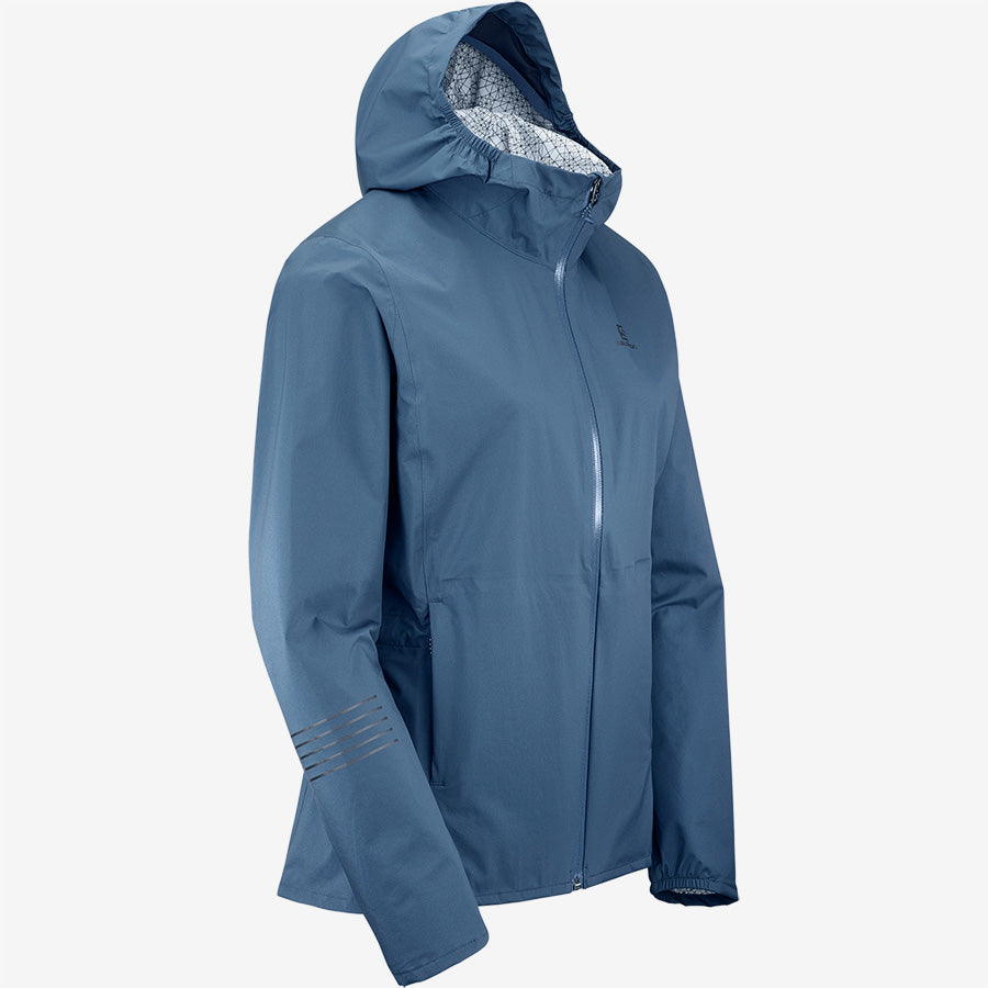 Salomon Women's Lightning WP Jacket - Navy