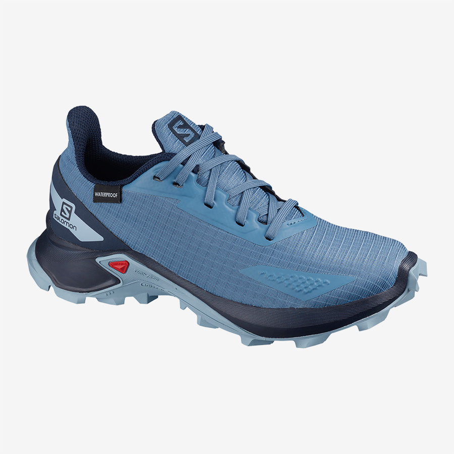 Kids' Salomon Alphacross Blast CSWP - Blue
