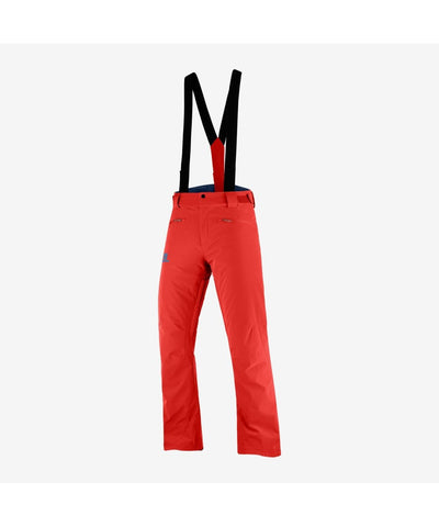 Men's Salomon Stance Pant - Red