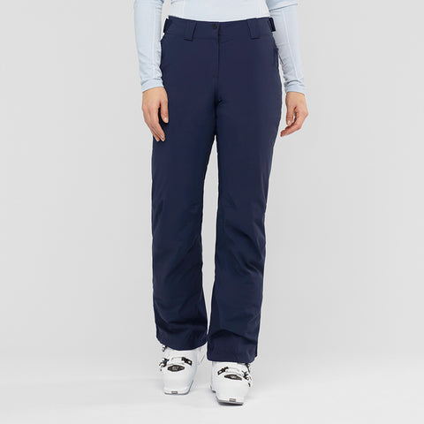 Women's Salomon Brilliant Pant - Navy