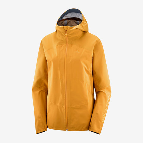 Salomon Women's Outline Jacket - Orange