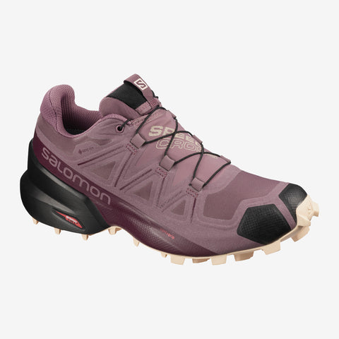 Women's Salomon Speedcross 5 GTX -  Pink