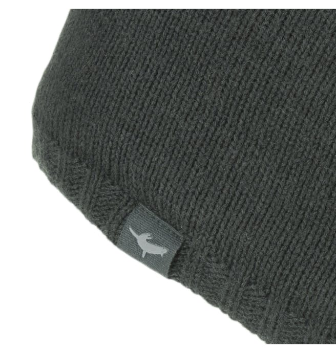Unisex Sealskinz Waterproof Beanie Hat - Black