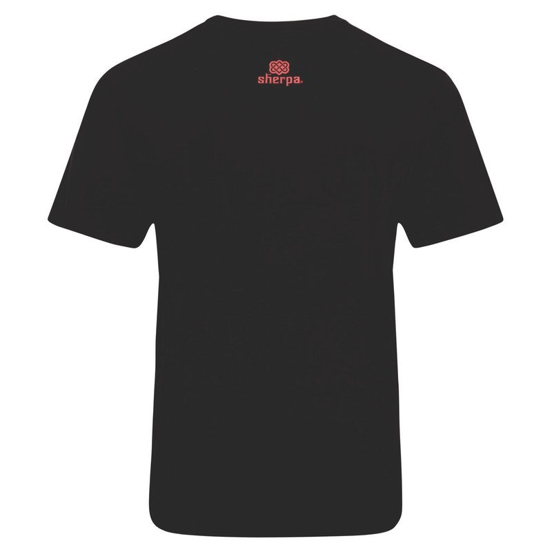 Men's Sherpa Adventure Tarcho SS T-Shirt - Black