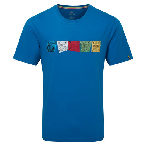 Men's Sherpa Adventure Tarcho SS T-Shirt - Blue