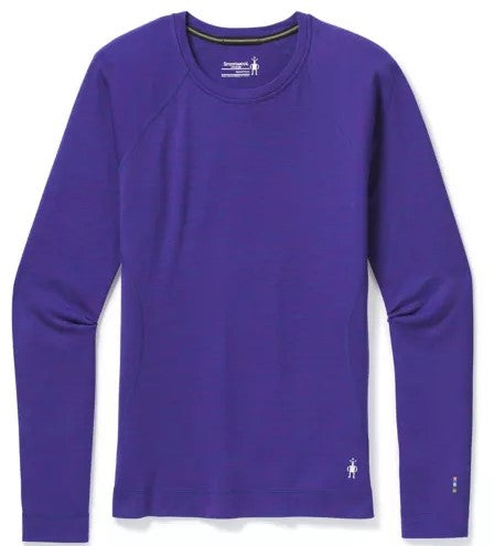Women's Smartwool Merino 250 Baselayer Crew - Purple